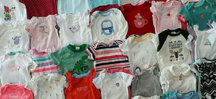 เสื้อผ้าวัยทารก