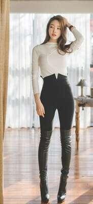 กางเกงขายาวผู้หญิงแฟชั่น