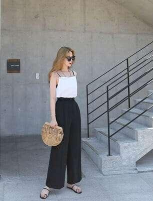 กางเกงผ้ายืดขายาวผู้หญิง