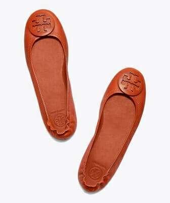 รองเท้าบัลเล่ต์ Tory Burch