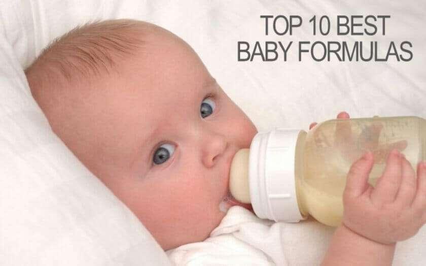 10 ยี่ห้อนมปรุงแต่งสำหรับทารกที่ดีที่สุด