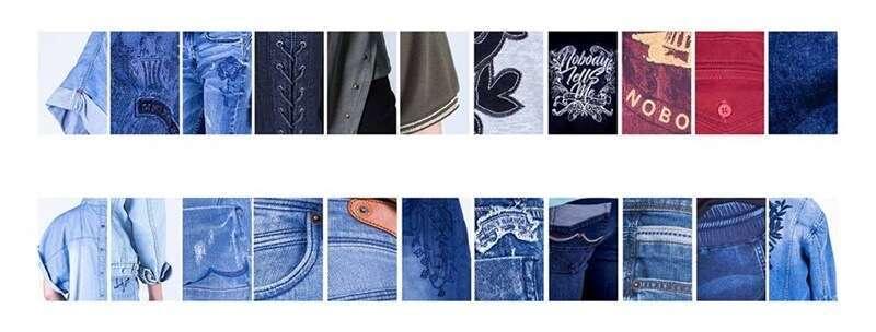 ผลิตเสื้อผ้ายีนส์สำเร็จรูป
