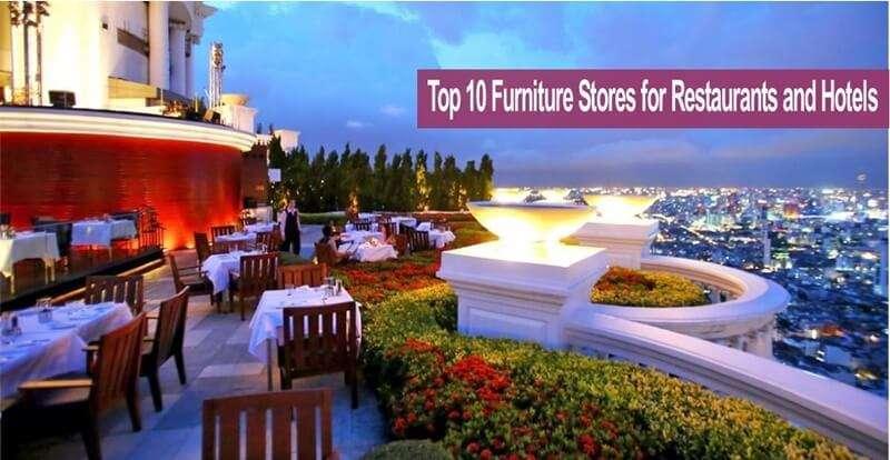 10 ร้านเฟอร์นิเจอร์สำหรับร้านอาหารและโรงแรมที่ดีที่สุดในกรุงเทพฯ
