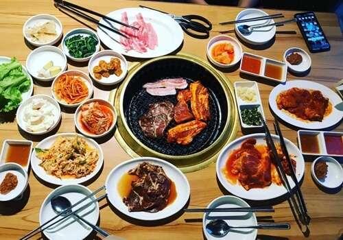 อาหารเกาหลีที่ดี