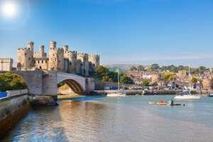 ปราสาทคอนวี่ (Conwy Castle)