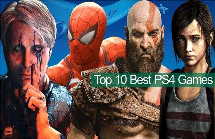 10 อันดับ เกมแอ็คชั่นใน PS4ยอดนิยม