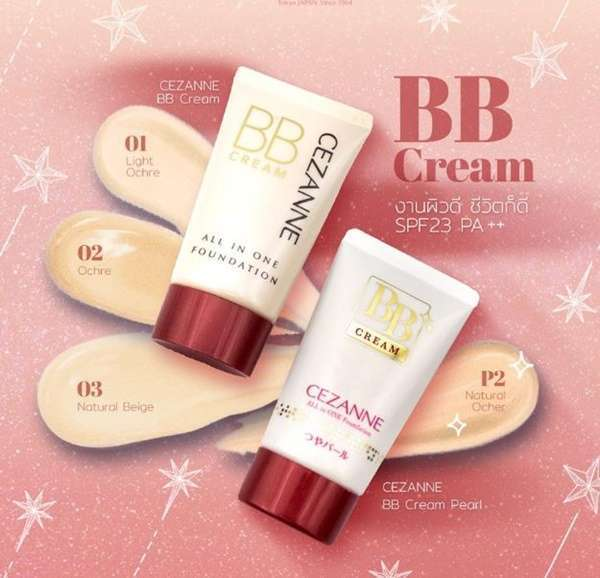 Cezanne BB Cream SPF23PA++ (40 g)