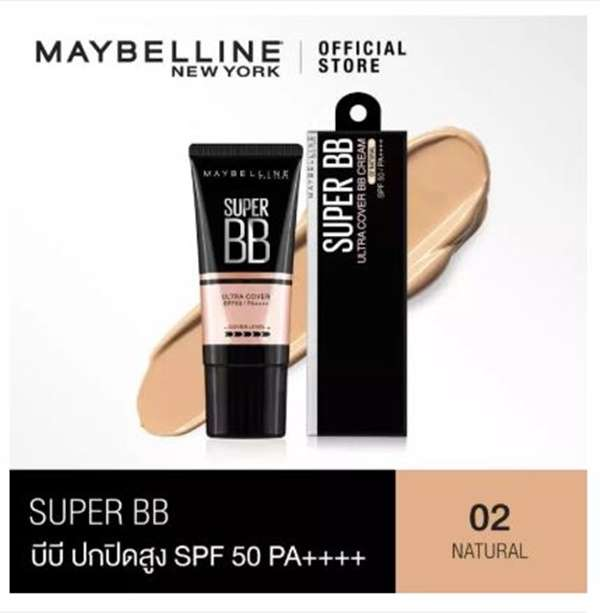 Maybelline New York Super Cover BB SPF 50 PA++++ (30 ml)