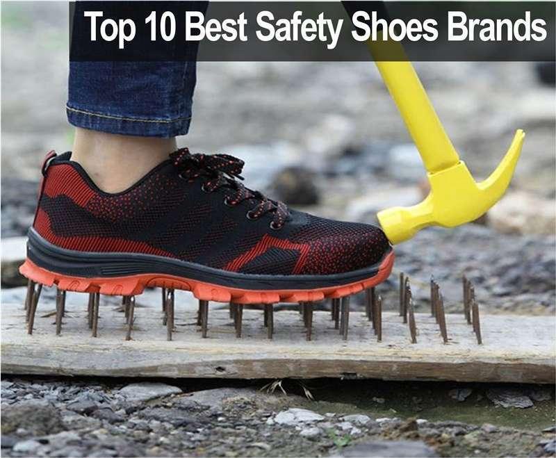 10 อันดับแบรนด์รองเท้านิรภัยที่ดีที่สุดในปี