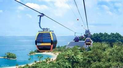 กระเช้าลอยฟ้าสิงคโปร์(Singapore Cable Car Sky Pass)