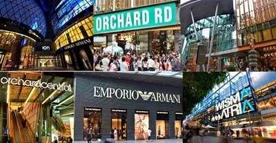 ช็อปปิ้งถนนออร์ชาร์ด (Orchard Road)
