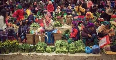 ตลาดบัคฮา (Bac Ha Market)