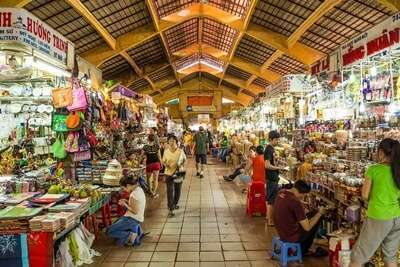 ตลาดเบ๊นถั่ญ (Ben Thanh Market)