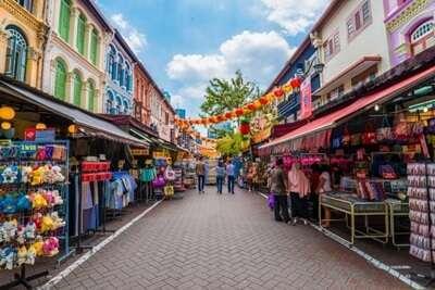 ตลาดและถนนคนเดินย่าน Little India
