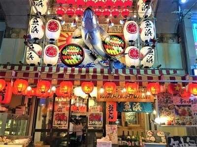 ทานข้าวหน้าทะเลที่ร้าน Minatoya Shokuhin