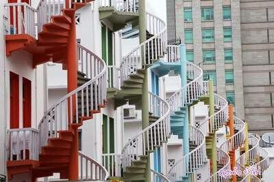 บันไดวน Spiral Staircases – Bugis Village