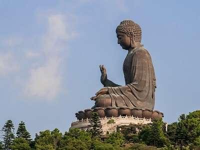 พระใหญ่ (รูปปั้นพระตาลเทียน) ฮ่องกง