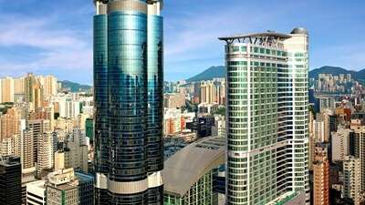 พักที่ Cordis Hong Kong