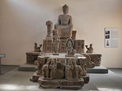 พิพิธภัณฑ์รูปปั้นงานศิลปะของอาณาจักรจามปา(Museum of Charm Sculpture)