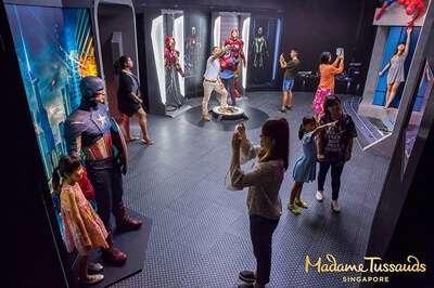 มาดามทุสโซ สิงคโปร์(Madame Tussauds™)