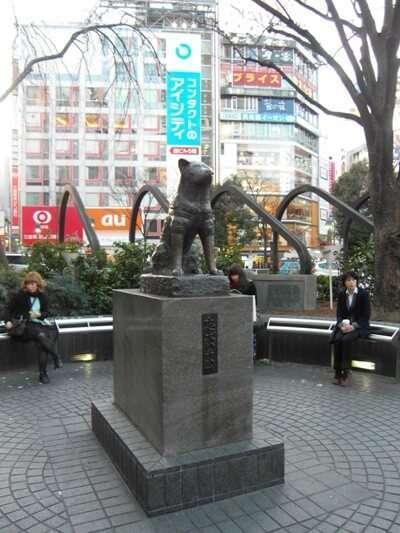 รูปปั้นสุนัขฮาจิโกะ(Hachiko Statue)