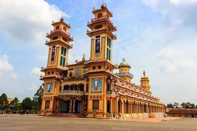 วัดกาวได๋ (Cao Dai Temple)