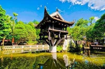 วัดเจดีย์เสาเดียว (One Pillar Pagoda)