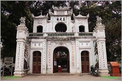 วิหารกวานแท่ญ (Quan Thanh Temple)