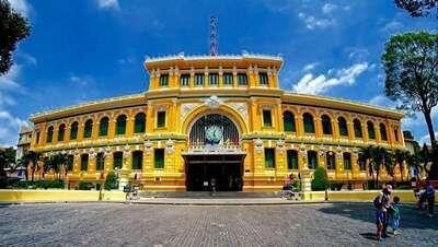 อาคารไปรษณีย์กลาง (Saigon Post Office)