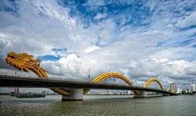 แม่น้ำหานและสะพานมังกร (Han River & Dragon Bridge)