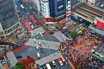 แยกชิบูย่า (Shibuya Crossing)