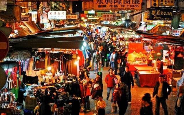ตลาดกลางคืนคูตา