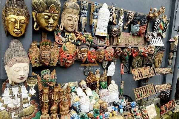 ตลาดศิลปะโบราณอูบุด