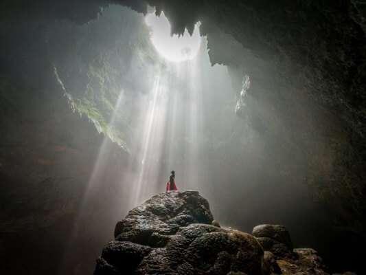 ถ้ำ Jomblang
