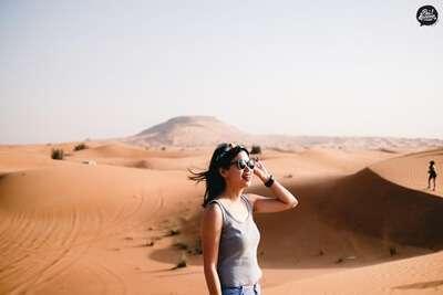 ทะเลทรายอาบูดาบี (Abu Dhabi Desert)