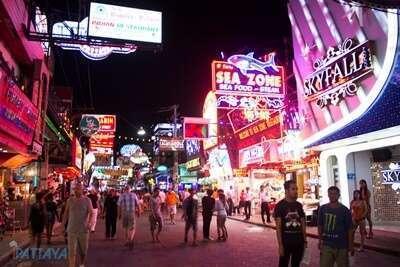 พัทยา วอล์คกิ้ง สตรีท ( Pattaya Walking Street )