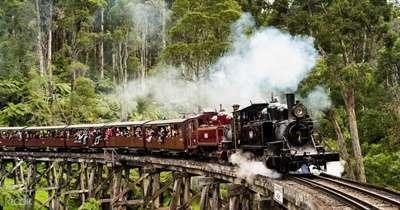 รถไฟไอน้ำ Puffing Billy