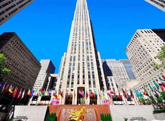 ร็อคกี้เฟลเลอร์ เซ็นเตอร์ (Rockefeller Center)
