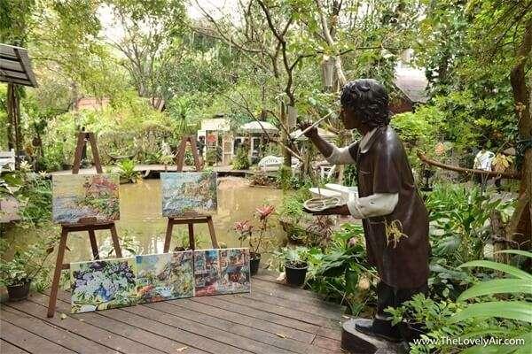 สวนซ่อนศิลป์เขาใหญ่ Secret Art Garden
