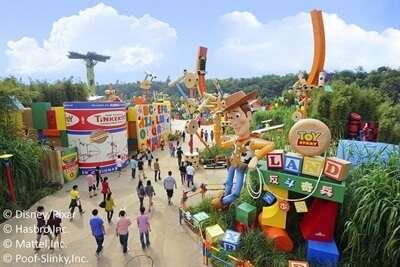 สวนสนุกสำหรับเด็ก Mattel Play! Town