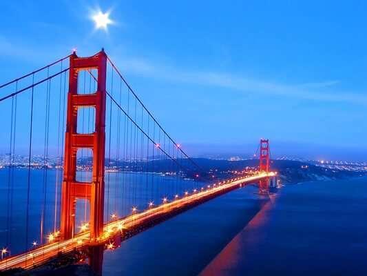 สะพานโกลเด้น เกต (Golden Gate Bridge)