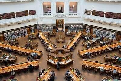 ห้องสมุดรัฐวิคตอเรีย (The State Library of Victoria )