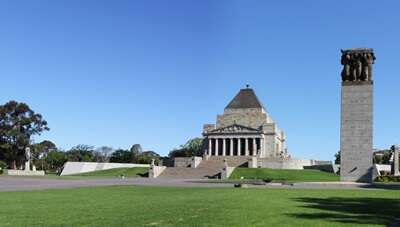 อนุสรณ์สถาน Shrine of Remembrance