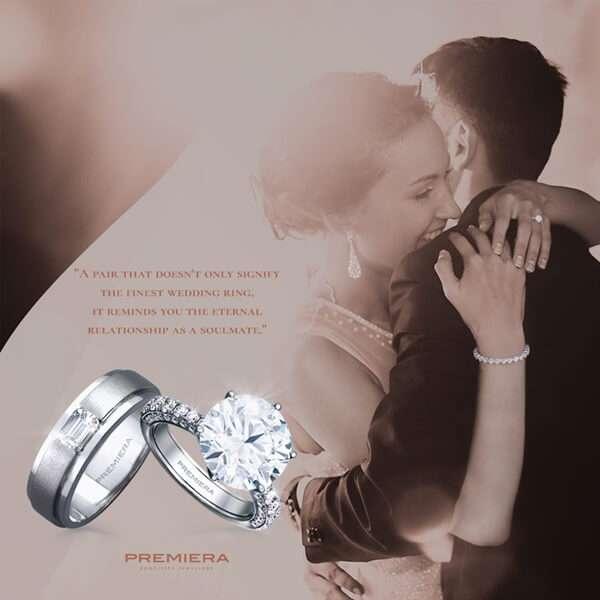 แหวนเรียบเก๋แบบสุดปังด้วย Premiera