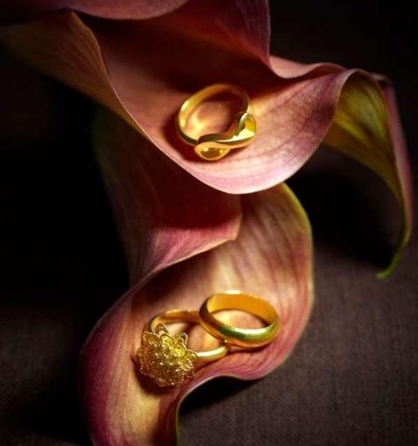 แหวนทองคำเกลี้ยงคลาสสิค