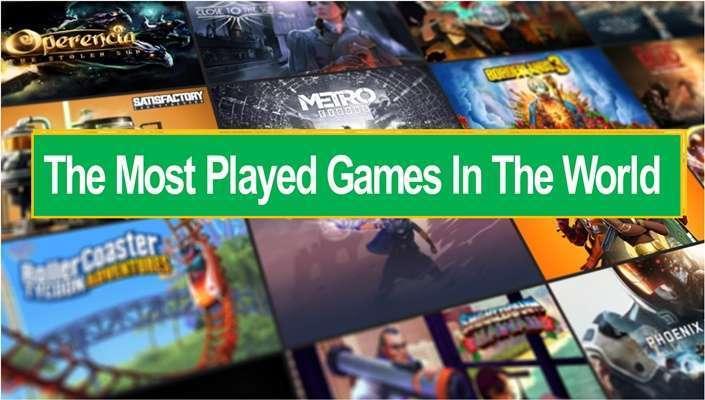 10 เกมที่เล่นมากที่สุดในโลก
