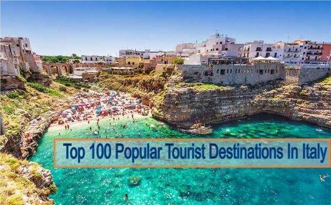 100 อันดับสถานที่ท่องเที่ยวยอดนิยมในอิตาลี