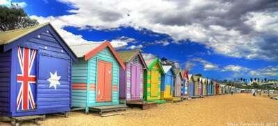 Bathing Box ที่ หาด Brighton
