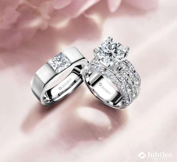 Jubilee แหวนหมั้นอลังการโดดเด่นด้วยดีไซต์สุดหรู
