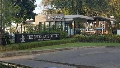 The chocolate factory shop & restaurant พัทยา
